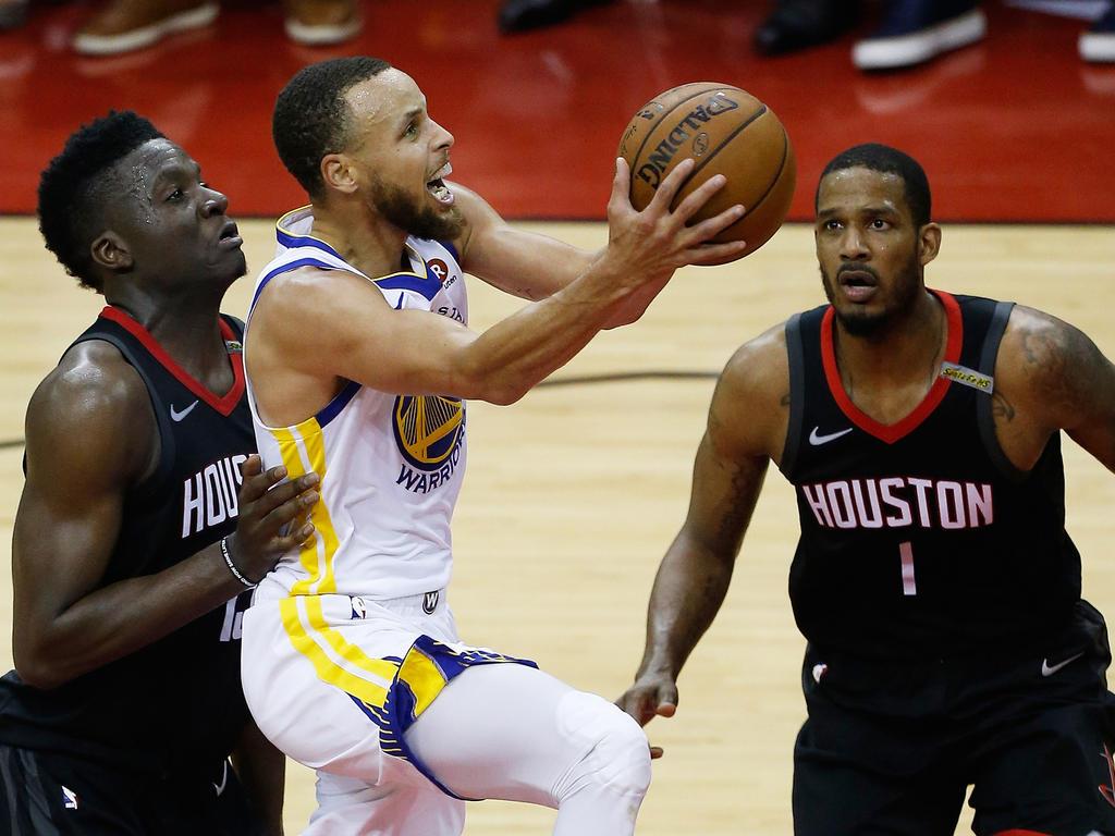 Stephen Curry führte seine Mannschaft in die NBA-Finals