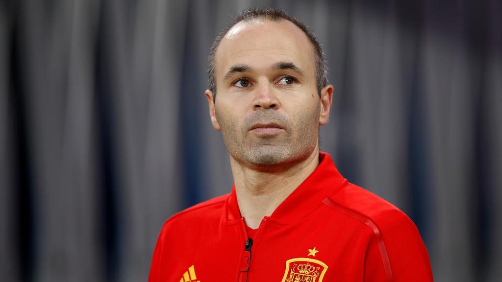 Verabschiedet sich aus der spanischen Nationalmannschaft: Iniesta