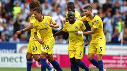 Bei Chelsea traf unter anderem Neuzugang Jorginho (l.)