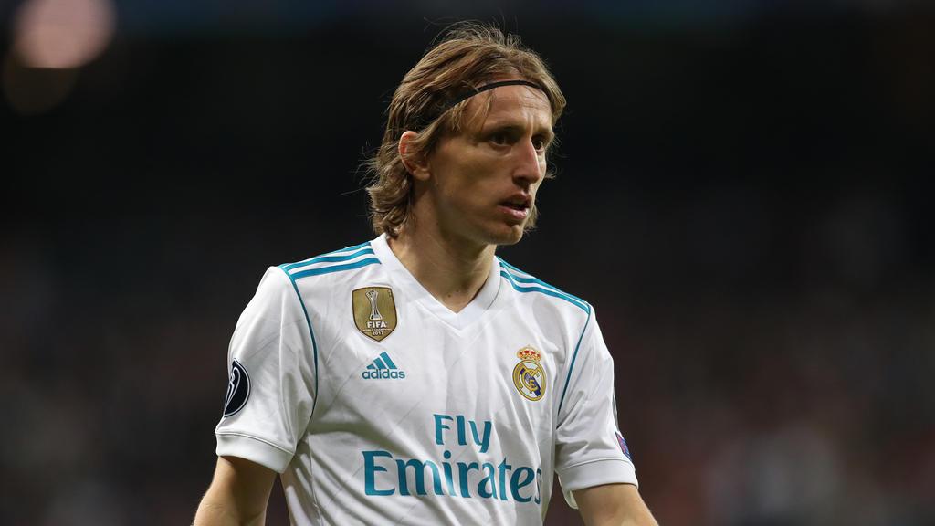Geht es nach Reals Trainer, bleibt Luka Modric in Madrid
