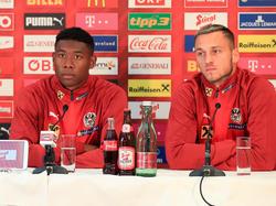 Franco Foda setzt für die kommenden Spiele auf zwei Kapitäne