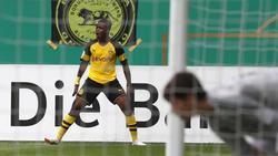 BVB-Talent Youssoufa Moukoko bejubelt den Dreierpack gegen Essen