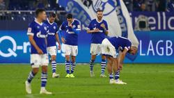 Nach der Niederlage gegen Bremen herrschte bei den Schalkern Frust