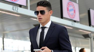 Der FC Bayern kann James Rodríguez im Sommer fest verpflichten