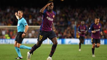 Ousmane Dembélé ist beim FC Barcelona das Gesprächsthema Nummer eins