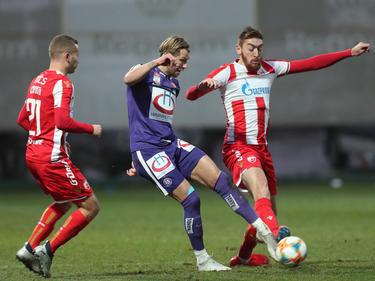 Austria-Kapitän Alexander Grünwald feierte gegen Roter Stern sein Comeback