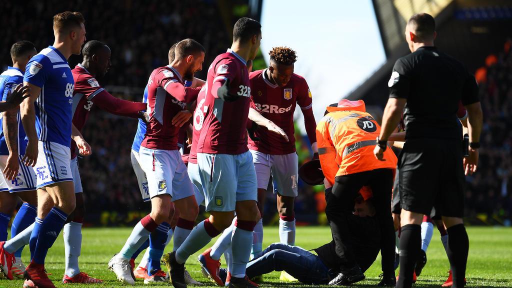 Das Birmingham-Derby wurde von einem Eklat überschattet