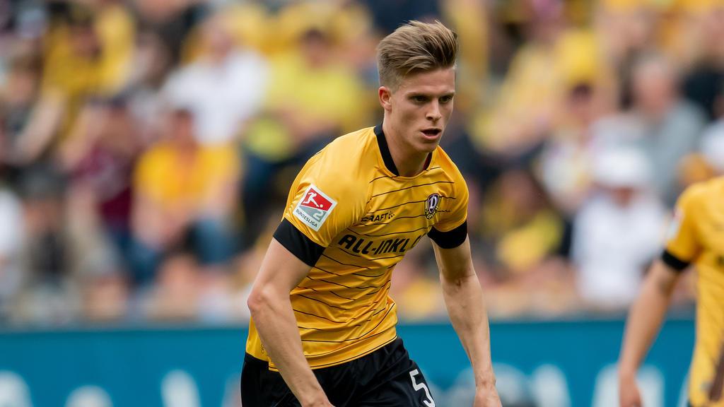 Dzenis Burnic machte zwölf Spiele für Dresden in der Rückrunde