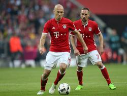 Bayerns Flügelzange legte eine Topleistung gegen Dortmund hin
