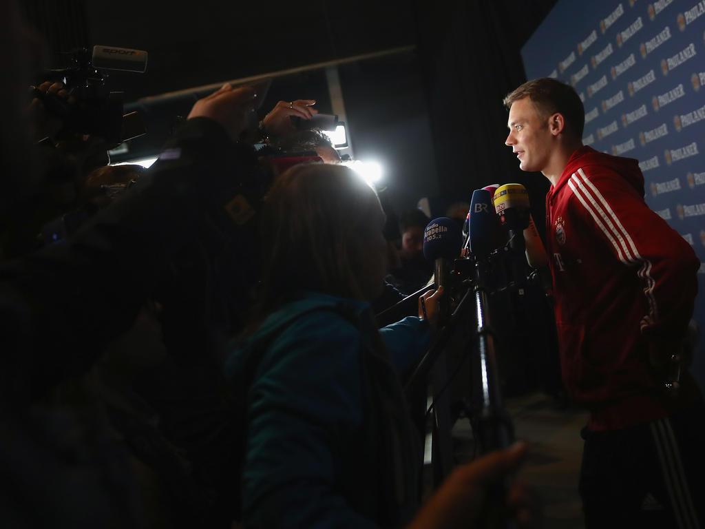 Schafft es Manuel Neuer zur Fußball-WM in Russland?