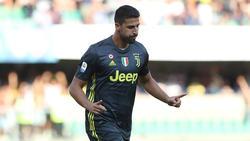 Sami Khedira erzielte das Tor für Juventus Turin