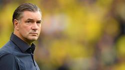 BVB-Sportdirektor Michael Zorc gab sich nach der Niederlage wortkarg