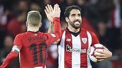 Muniain y Raúl García marcaron los goles del Athletic.