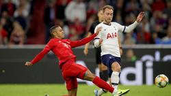 Christian Eriksen (r.) verlor das Duell mit seiner Mannschaft gegen den FC Bayern zuletzt deutlich mit 2:7