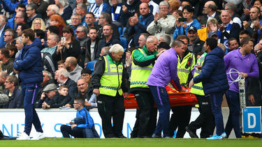 Hugo Lloris von Tottenham Hotspur verletzt sich schwer