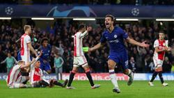 Der FC Chelsea und Ajax Amsterdam lieferten sich einen verrückten Schlagabtausch