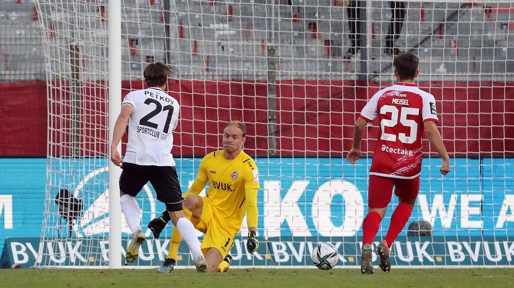 Der SC Verl hat die Würzburger Kickers bezwungen