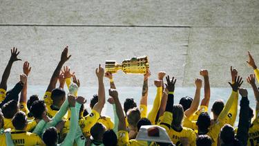 Der BVB ist amtierender DFB-Pokalsieger