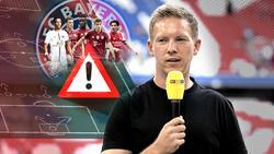 Julian Nagelsmann muss beim FC Bayern auf der Rechtsverteidiger-Position basteln