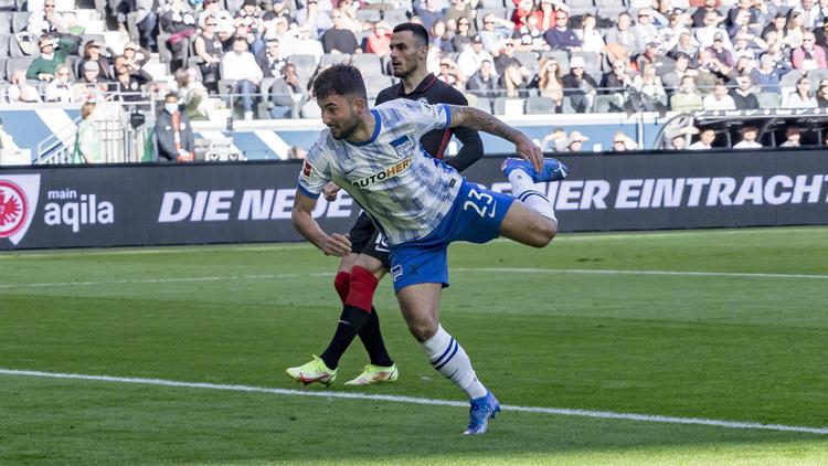 Hertha BSC siegt bei Eintracht Frankfurt