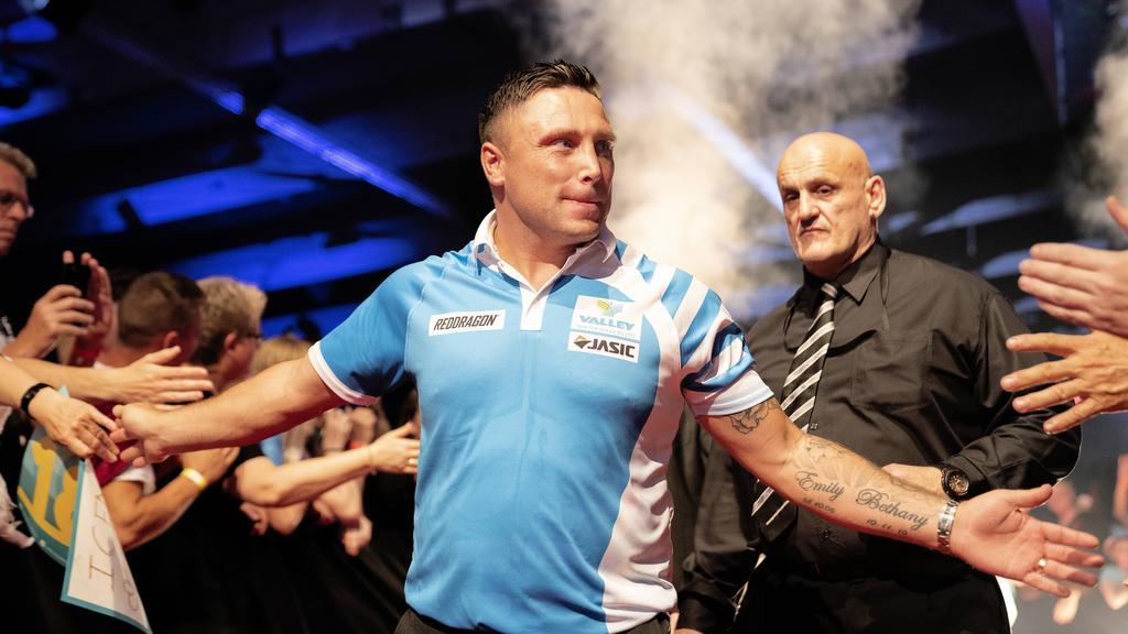 Gerwyn Price scheiterte im WM-Halbfinale gegen den späteren Sieger Peter Wright
