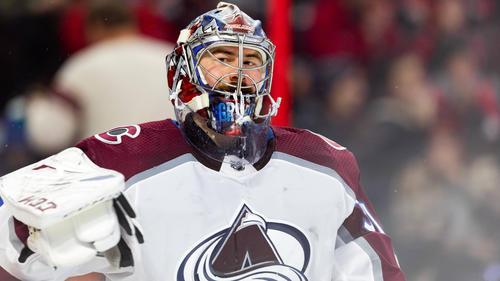 Keeper Philipp Grubauer musste bei Colorado Avalanche eine Pause einlegen