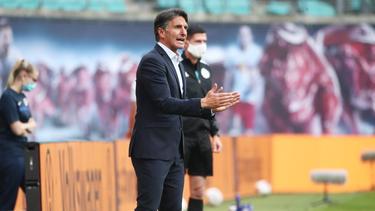Mit Hertha BSC in der Erfolgsspur: Bruno Labbadia