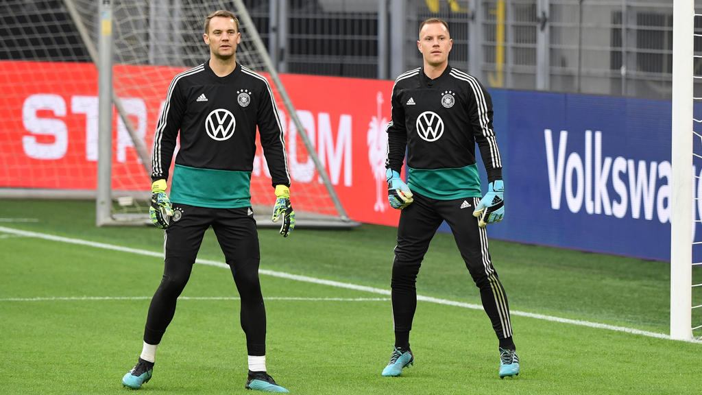 Beim Duell zwischen dem FC Bayern und Barca im Mittelpunkt: Manuel Neuer und Marc-André ter Stegen