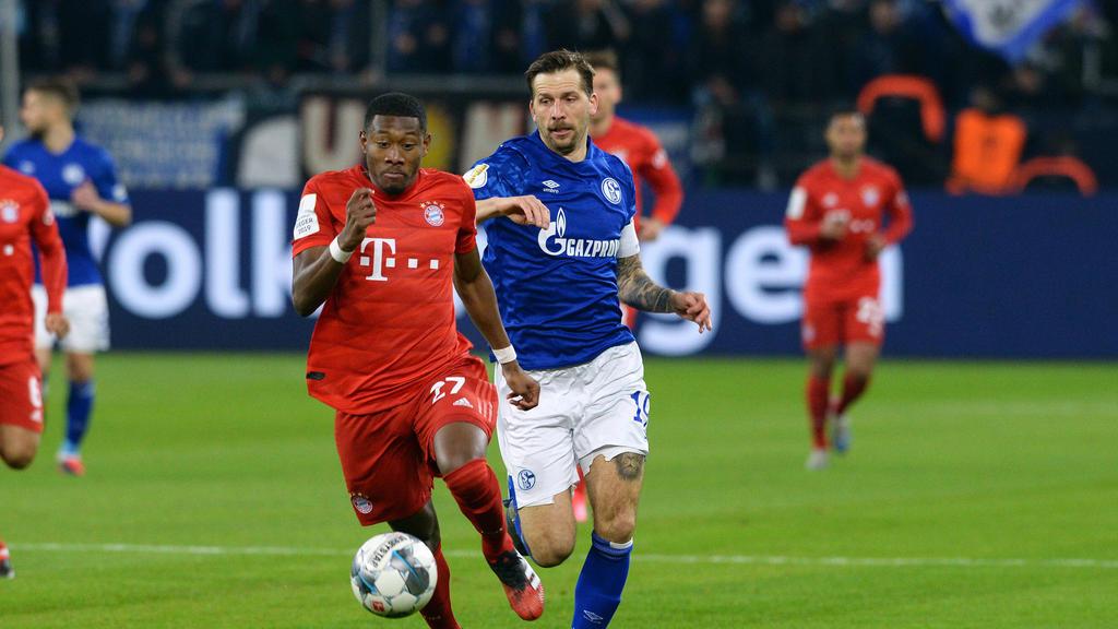 Zum Duell zwischen Alaba und Burgstaller könnte es am 1. Bundesliga-Spieltag nicht kommen