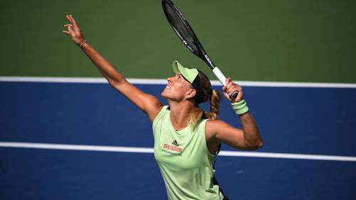 Angelique Kerber ist bei den US Open im Achtelfinale ausgeschieden