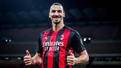 Zlatan Ibrahimovic war Matchwinner für AC Mailand