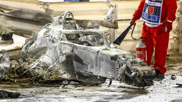 Halo hat Grosjean womöglich das Leben gerettet