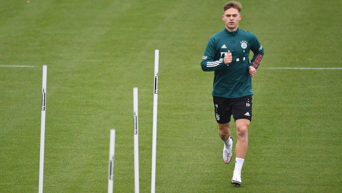 Joshua Kimmich befindet sich beim FC Bayern im individuellen Aufbautraining