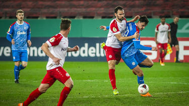 Holstein Kiel setzte sich gegen Rot-Weiss Essen durch