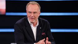 Karl-Heinz Rummenigge trat am Samstagabend im TV auf