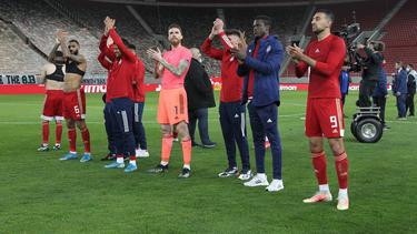 Olympiakos Piräus setzte sich erneut die Meisterkrone in Griechenland auf