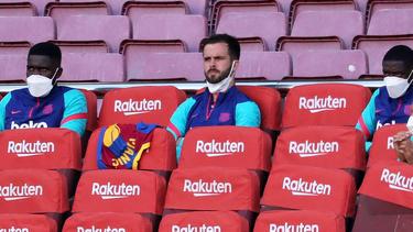 Verlässt Miralem Pjanic (M.) den FC Barcelona und wechselt zum FC Bayern?