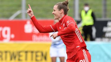Simone Laudehr will unbedingt Meisterin werden