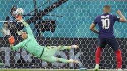 Kylian Mbappé vergab den entscheidenden Elfmeter