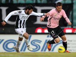AC Siena gegen US Palermo (26.02.2012)