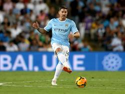 Javi Garcia, centrocampista del Manchester City