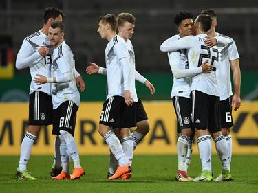 Das DFB-Team will den nächsten Schritt Richtung U21-EM in Italien und San Marino machen