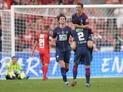 Lo Celso abrió el marcador en la final de la Coupe de France. (Foto: Imago)