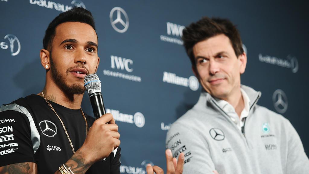 Eingespieltes Team: Lewis Hamilton genießt bei Toto Wolff seine Freiheiten