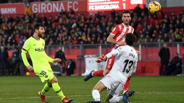 Lionel Messi traf für Barcelona zum 2:0