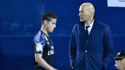 James y otros jugadores podrían tener los días contados en el Madrid: (Foto: Getty)