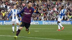 Messi descansará porque la liga está casi ganada. (Foto: Getty)