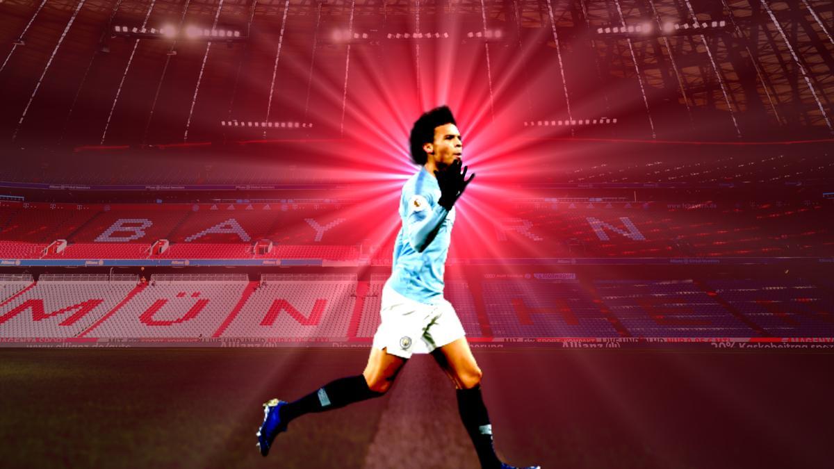 Wechselt er zum FC Bayern? Leroy Sané von Manchester City