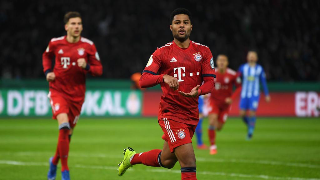 Serge Gnabry wurde mit dem FC Bayern Meister