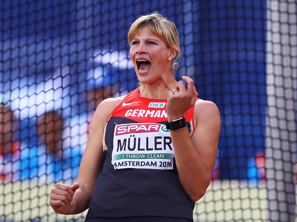 Nadine Müller erzielte in Halle die deutsche Jahresbestweite
